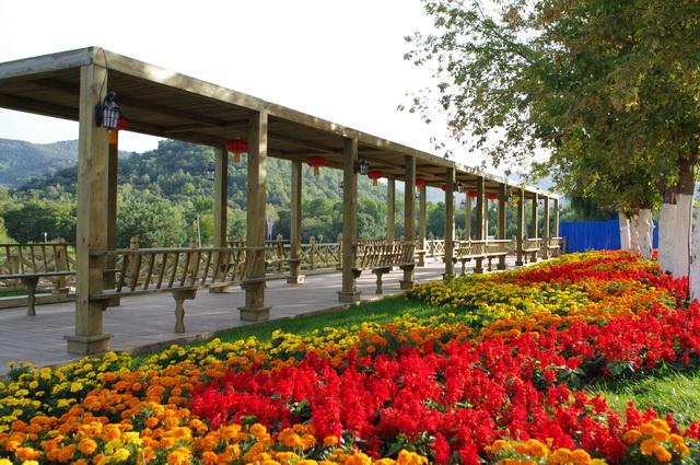 青山旅游区景点分布情况
